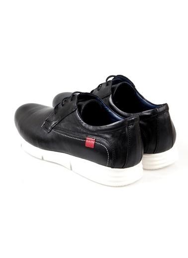 Darkwood 80203 Erkek Siyah Günlük Ayakkabı Siyah